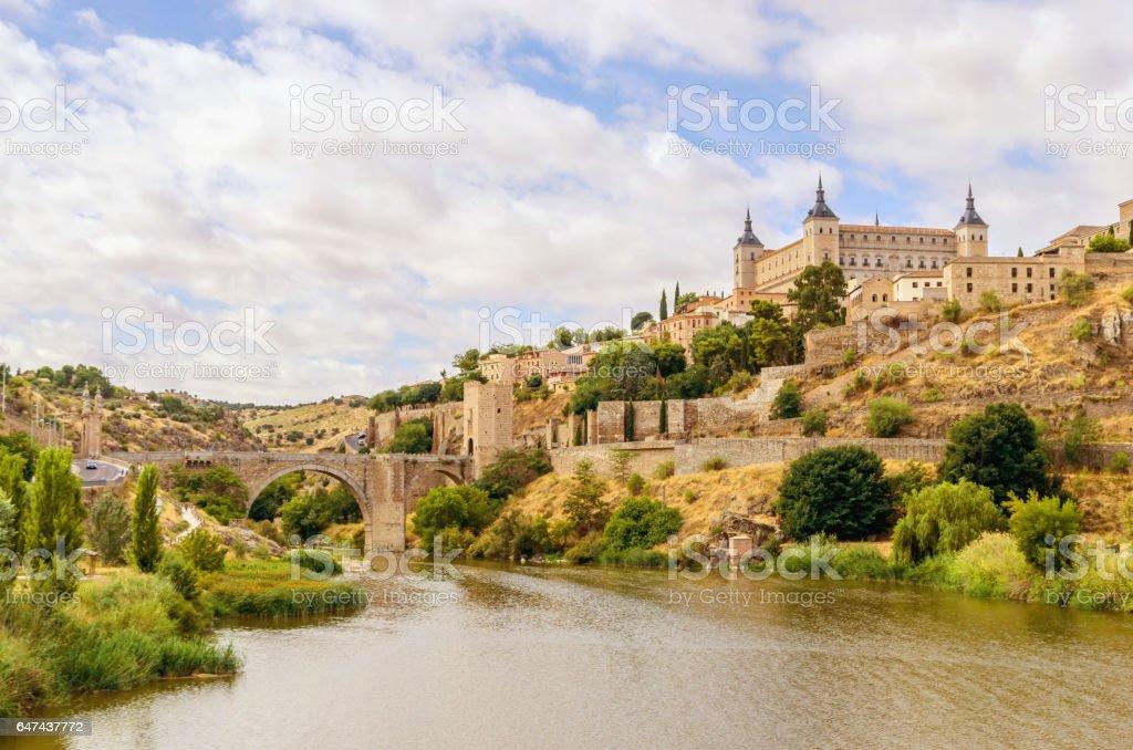 Toledo view stock photo