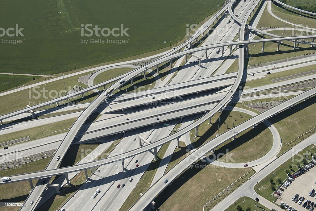 Toll Road Infrastructure stock photo