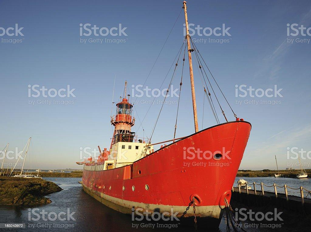 Tollesbury Lightship stock photo