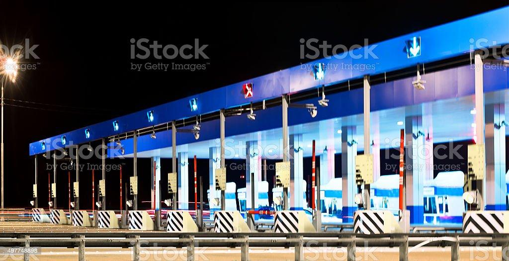 tollgate stock photo