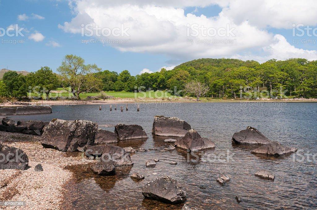 Tollie Bay stock photo