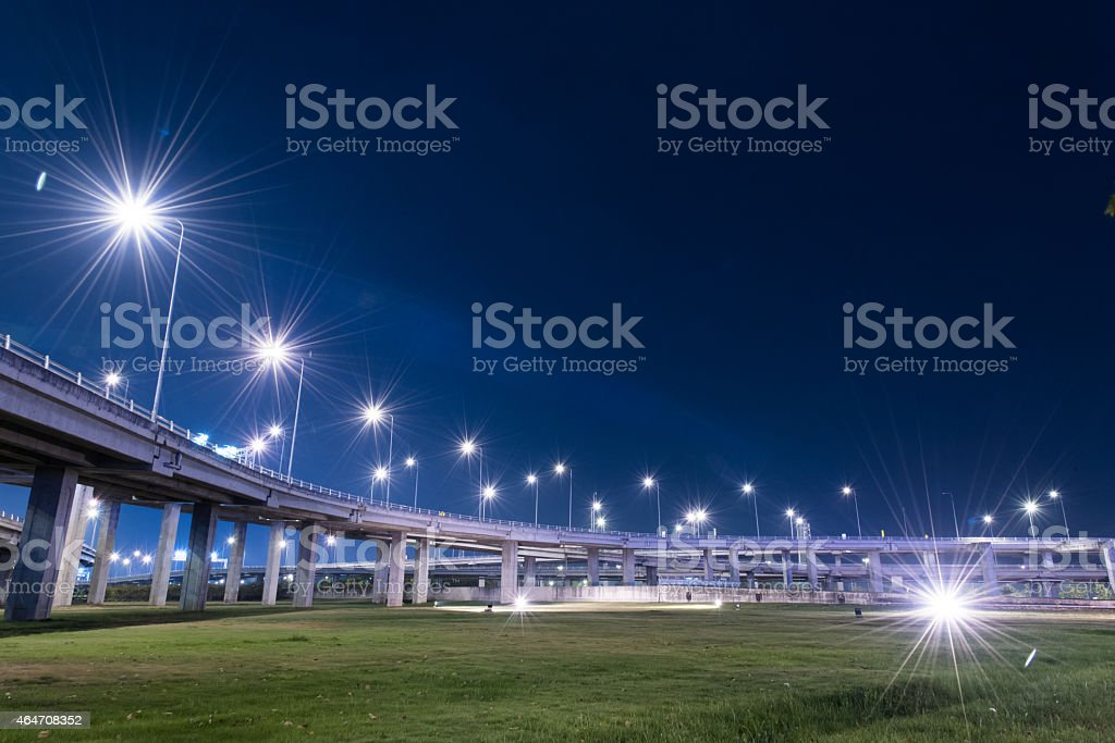 tollway express road stock photo
