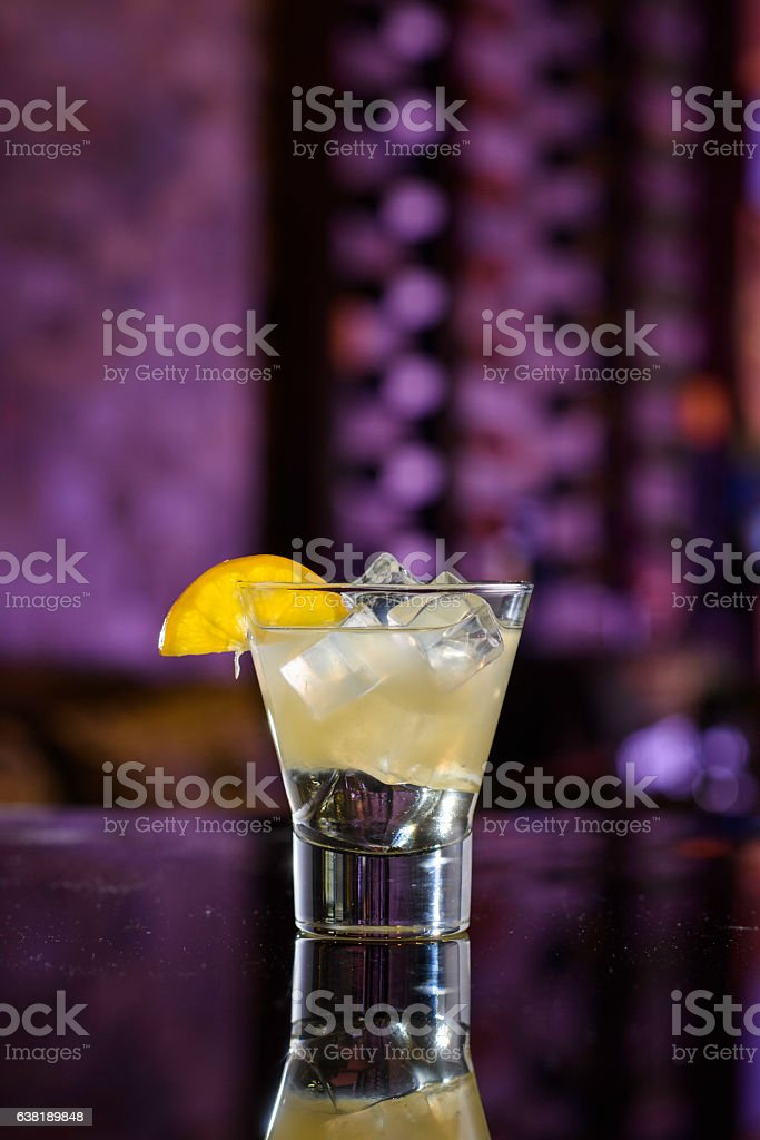 Tom Collins Cocktail stock photo