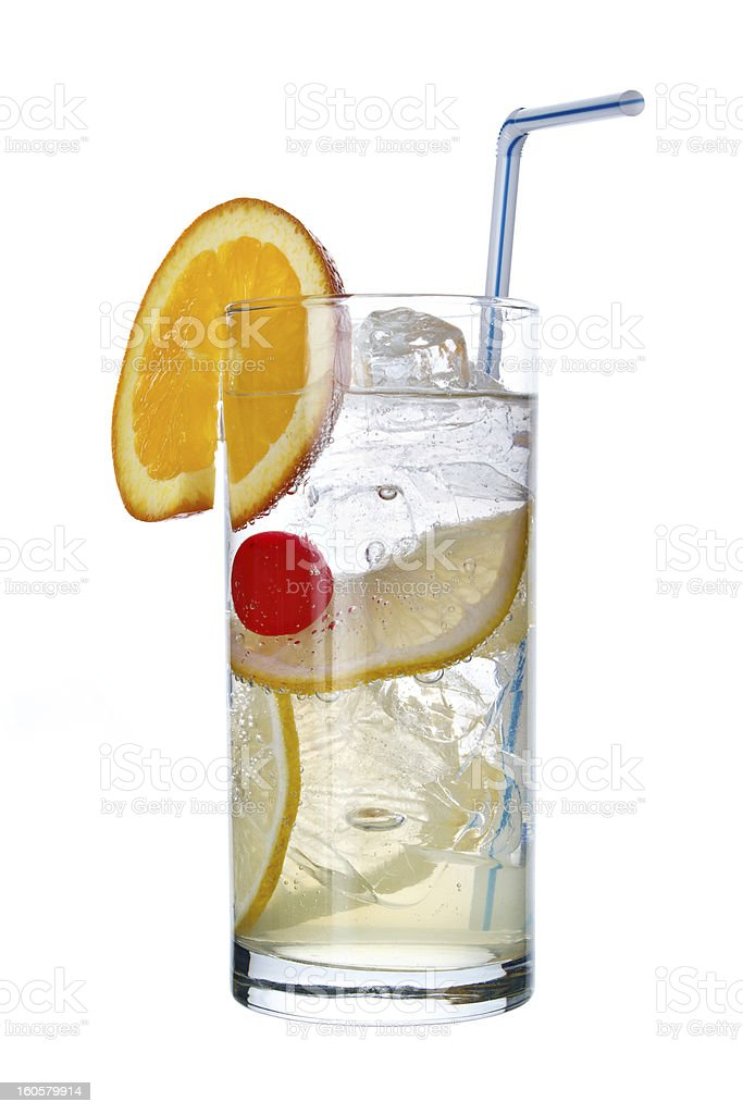 Tom Collins drink stock photo