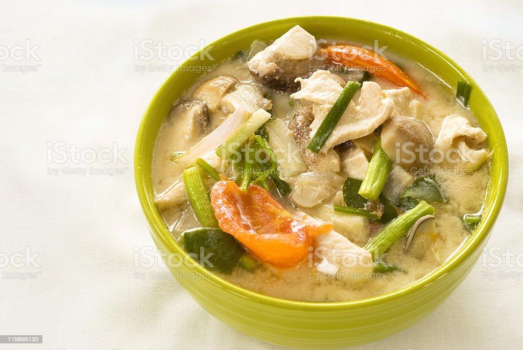 Tom Kha Gai stock photo