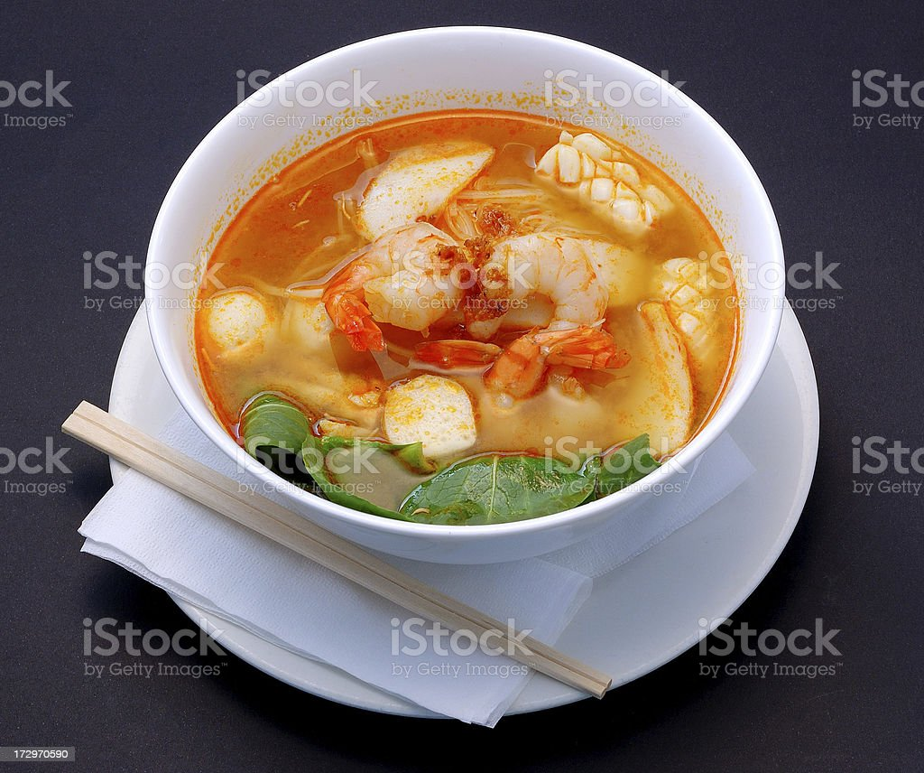tom yam kung royalty-free stock photo