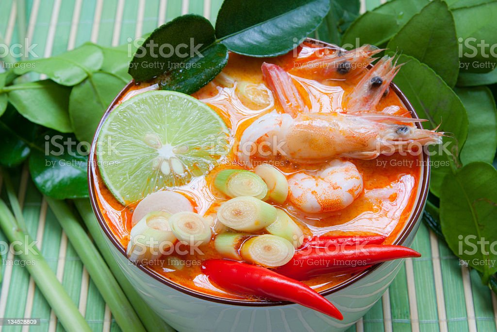 Tom Yum Goong royalty-free stock photo