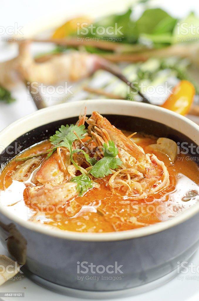 Tom Yum Goong stock photo