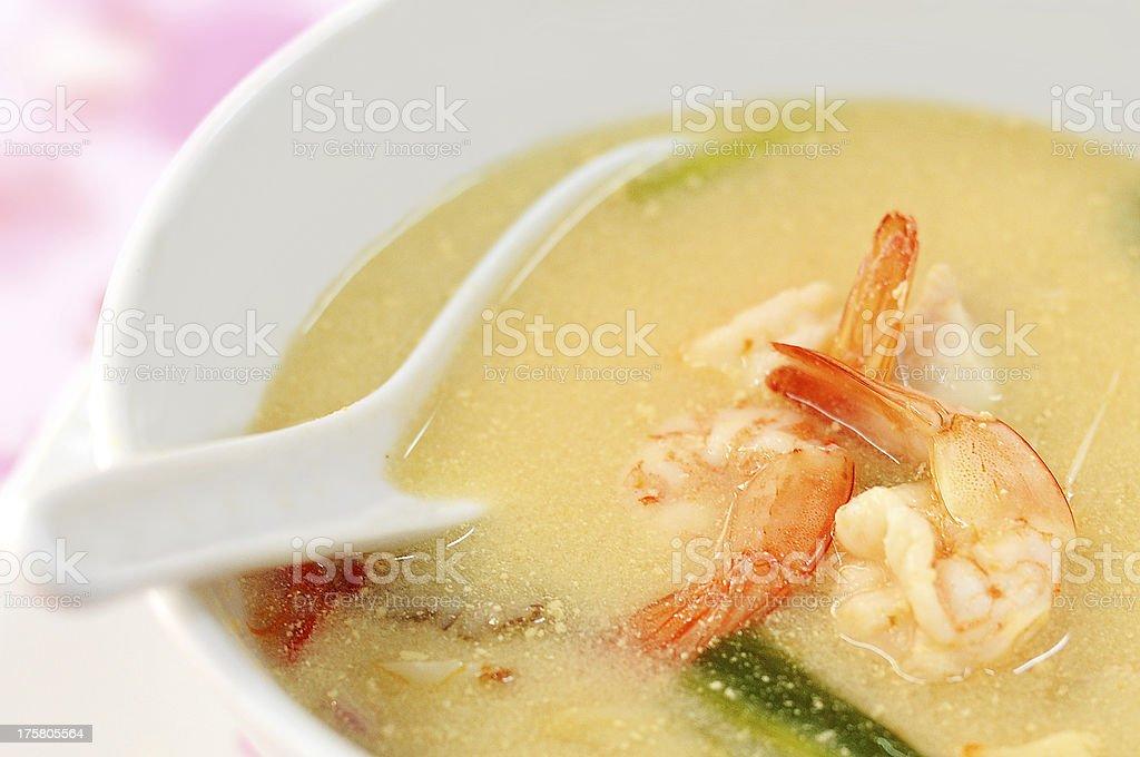 Tom yum koong, Thai Food stock photo