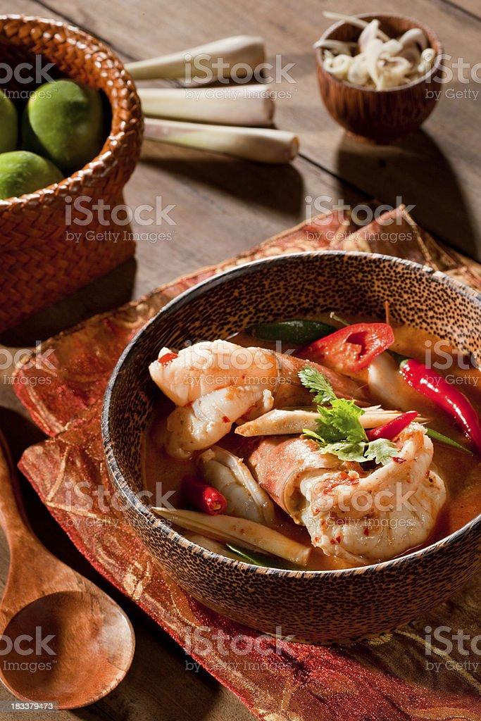 Tom Yum Kung stock photo