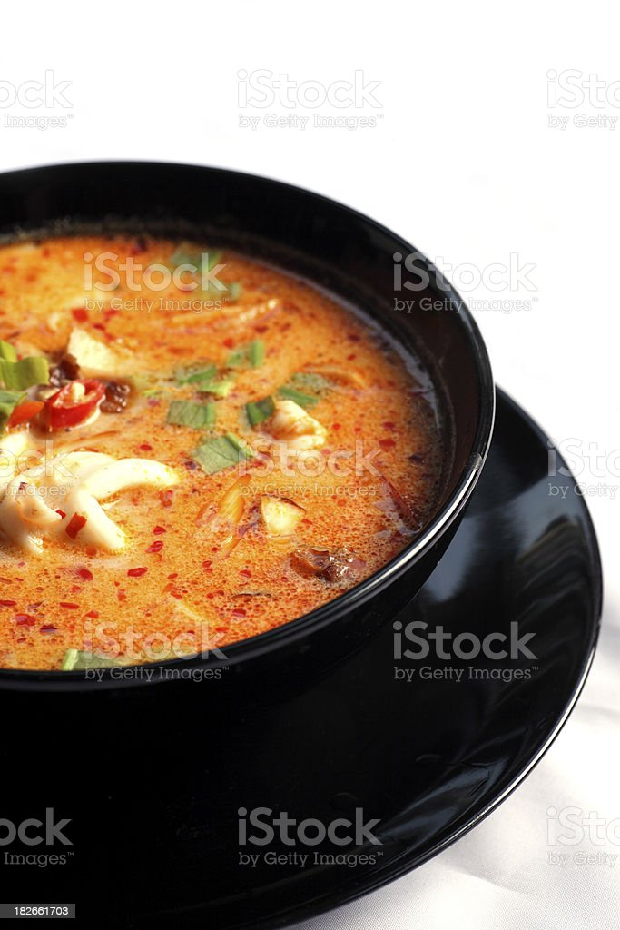 Tom Yum Soup royalty-free stock photo