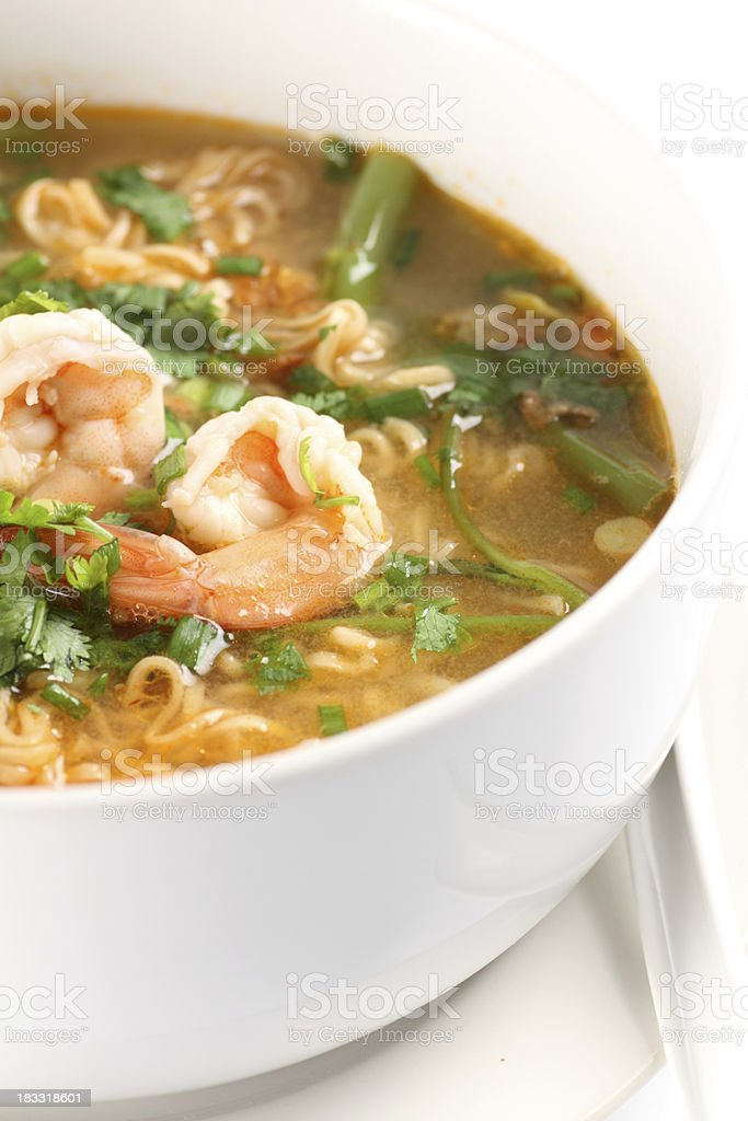 Tom Yum Soup royalty-free stock photo