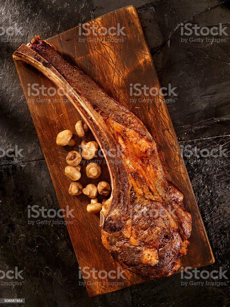 Tomahawk, The Ultimate Steak stock photo