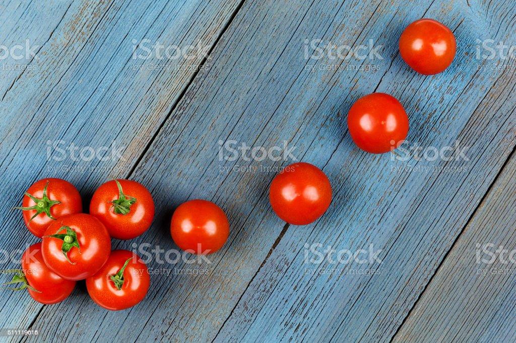 Tomaten  Brett stock photo