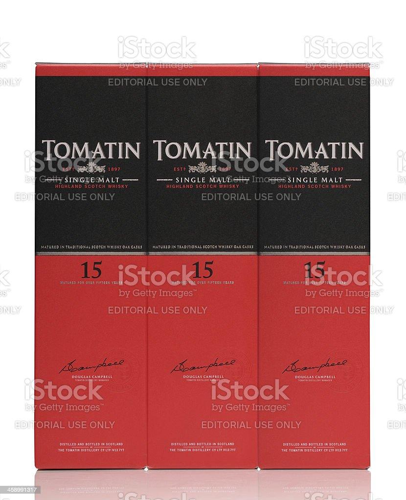 Tomatin whisky royalty-free stock photo