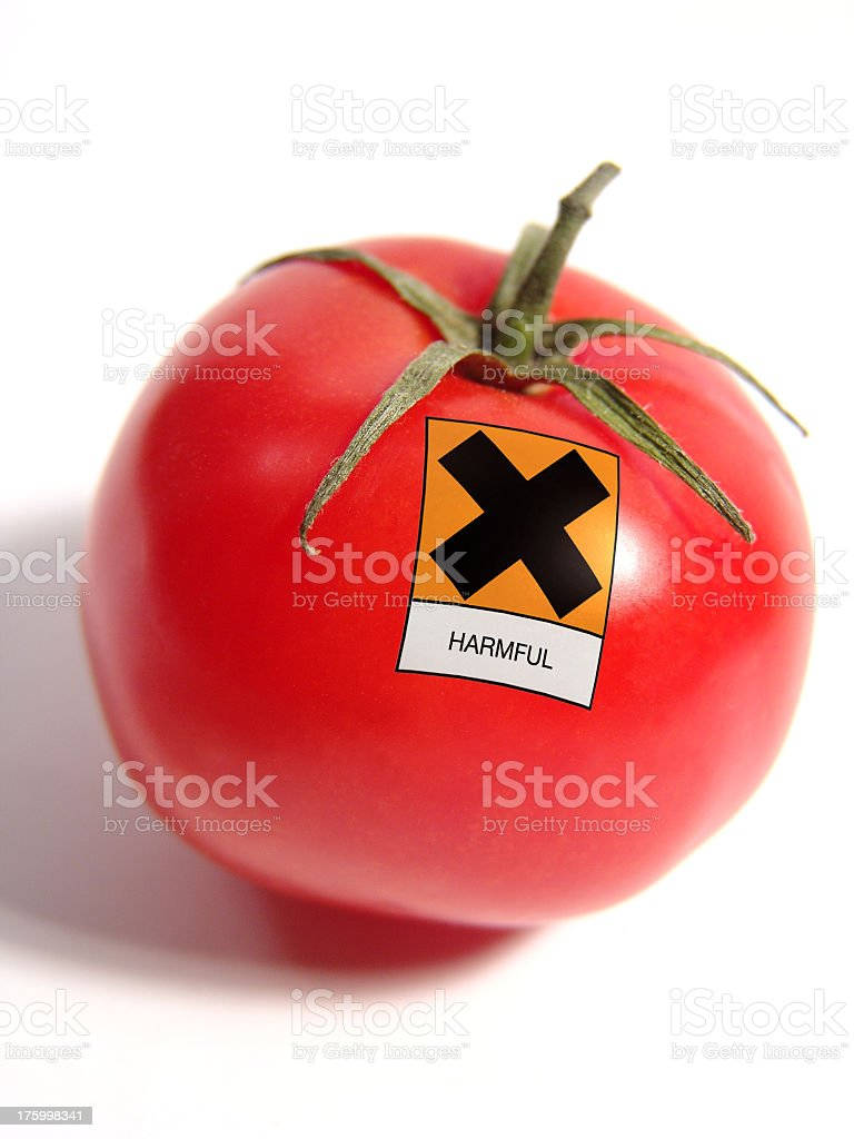 Tomato Allergy stock photo