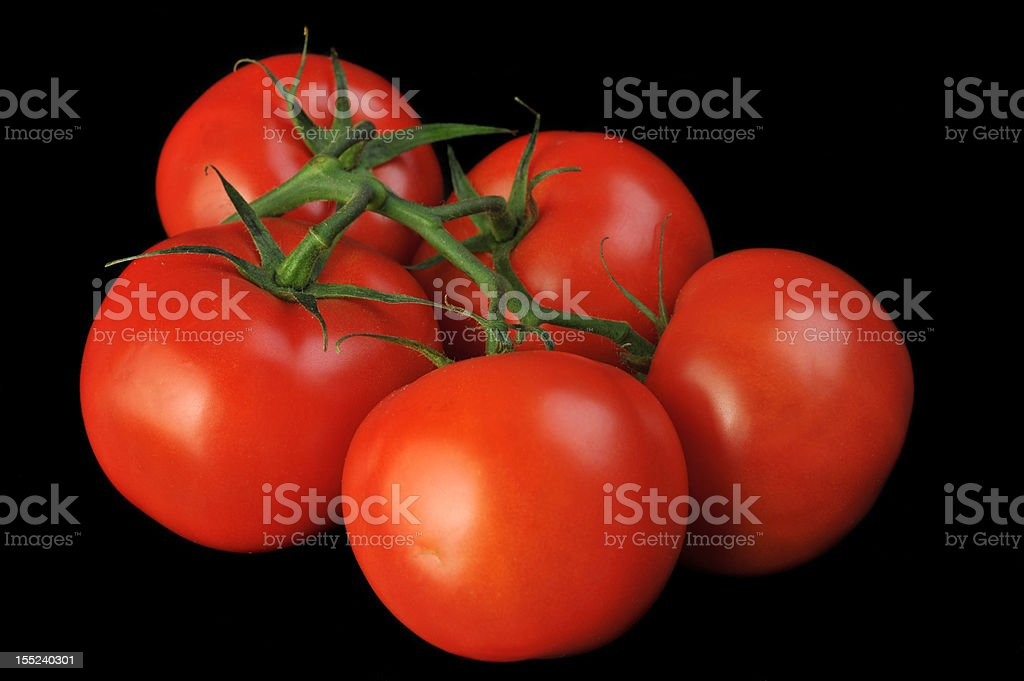 tomato bunch royalty-free stock photo