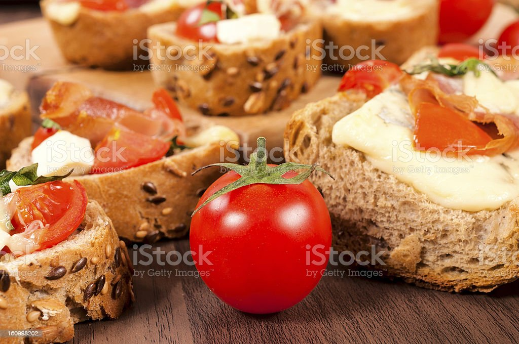 Tomato cherry royalty-free stock photo