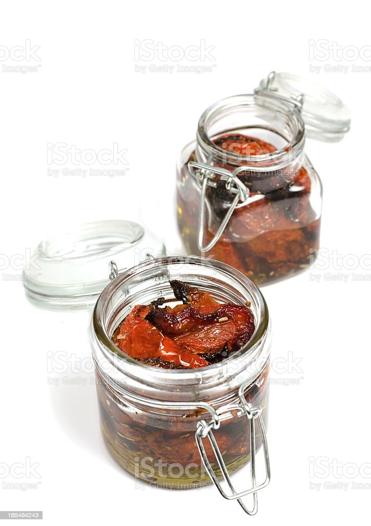 Tomato confit royalty-free stock photo