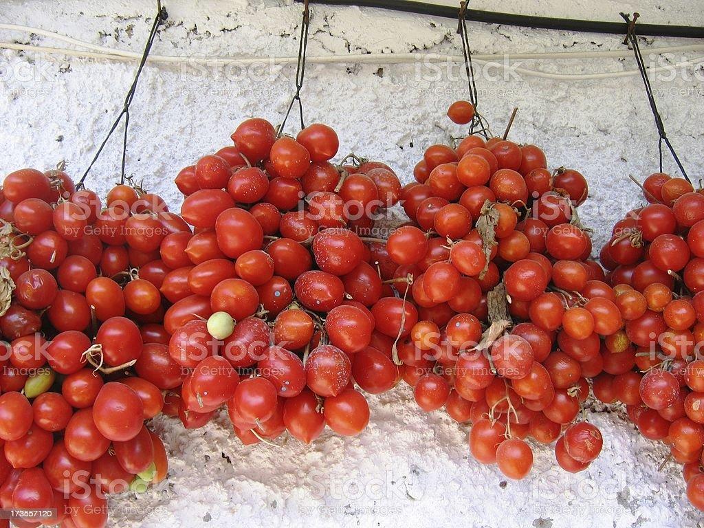tomato grape stock photo