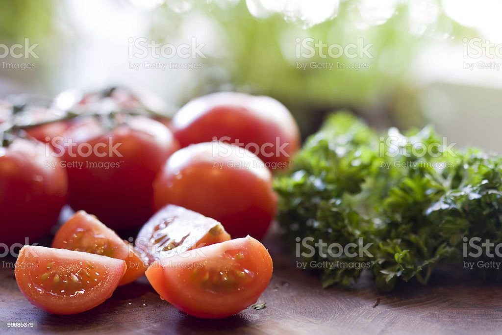 Tomato healthy eating royalty-free stock photo