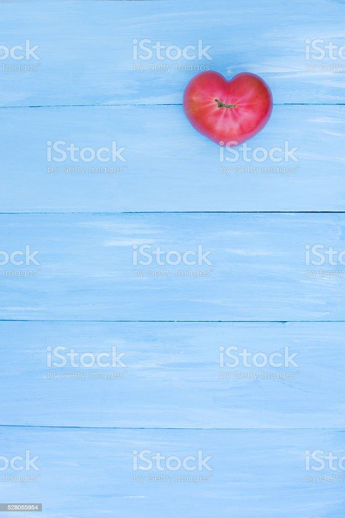 Tomato heart. stock photo