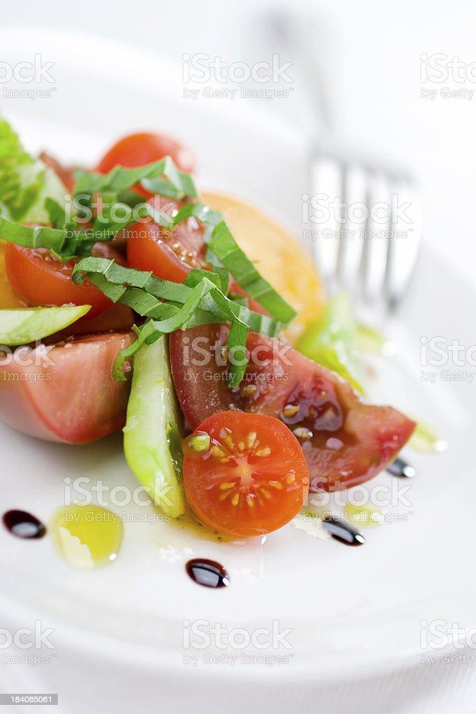 Tomato Herb Salad royalty-free stock photo