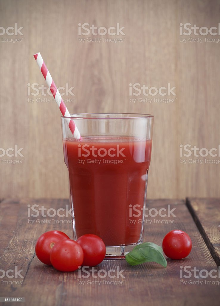 Tomato juice royalty-free stock photo