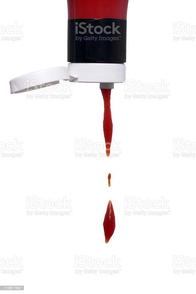 tomato ketchup stock photo