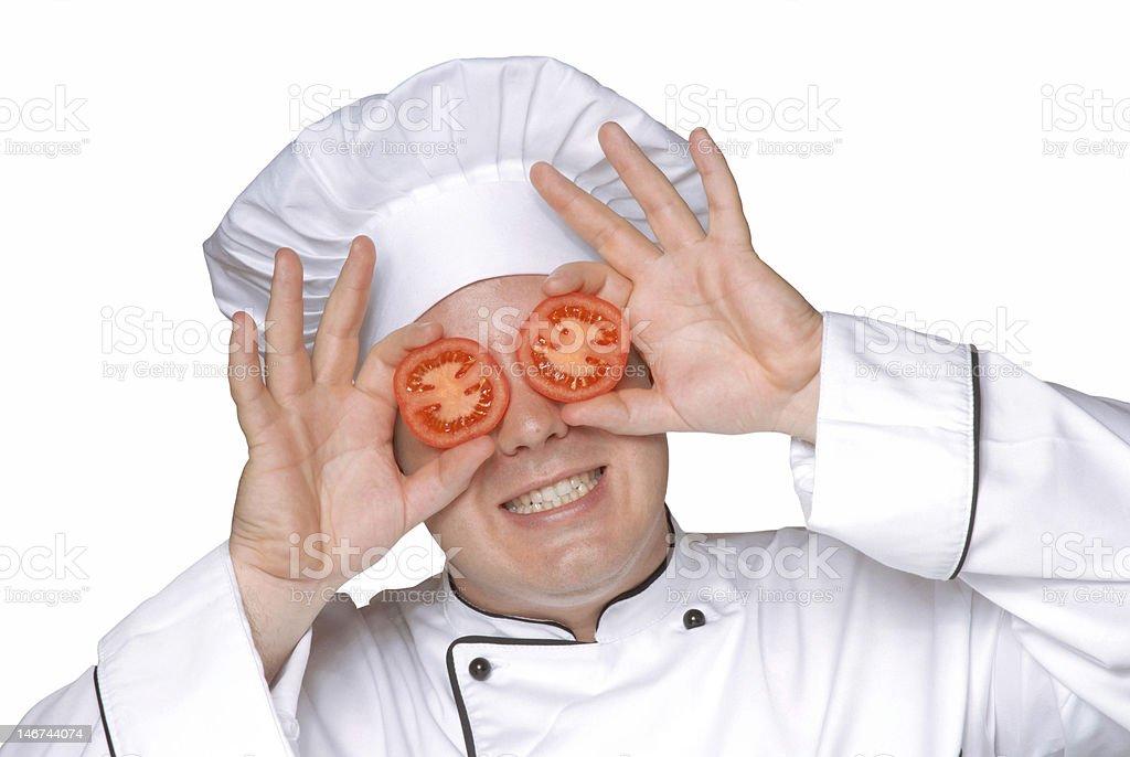 Tomato lenses. royalty-free stock photo