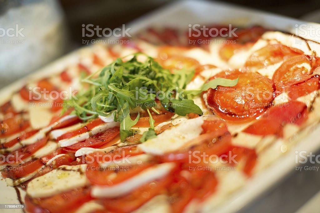 Tomato Mozarella royalty-free stock photo