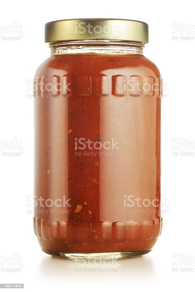 Tomato or marinara sauce stock photo