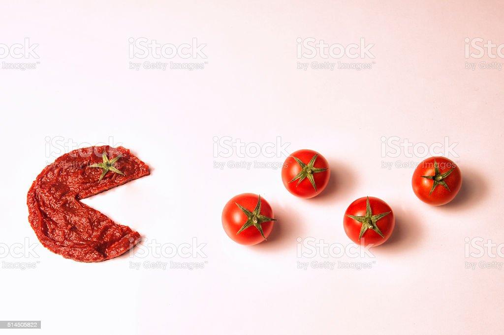 tomato paste stock photo