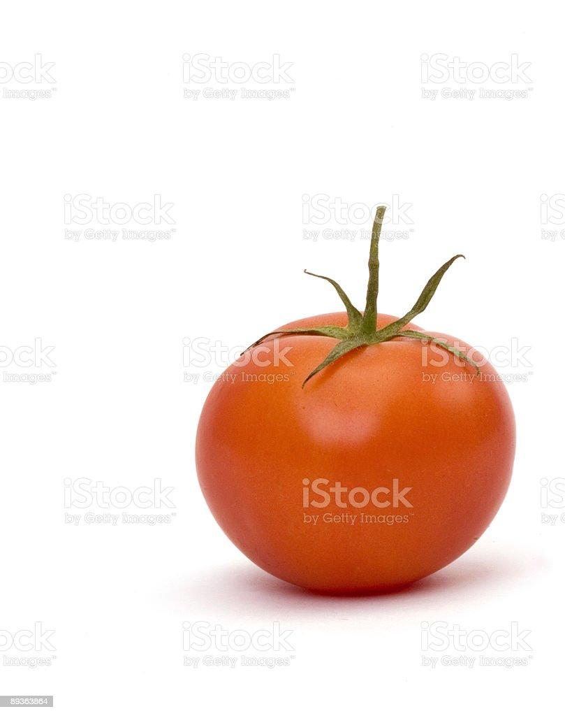 Tomato Portrait stock photo