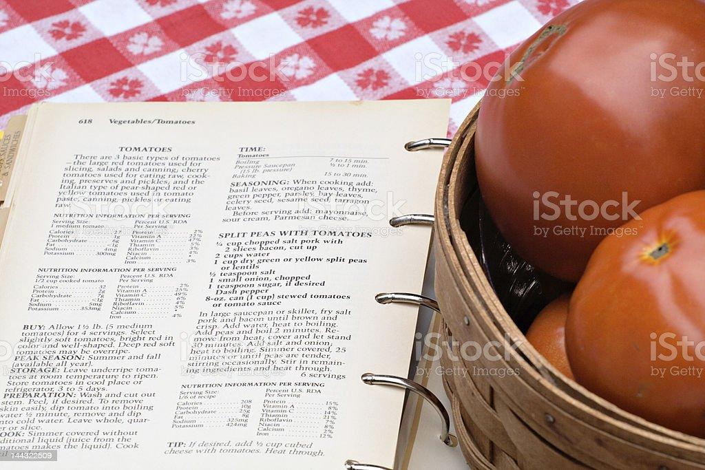 Tomato Recipes stock photo