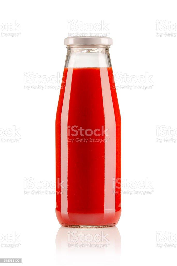 Tomato Sauce (Clipping Path) stock photo