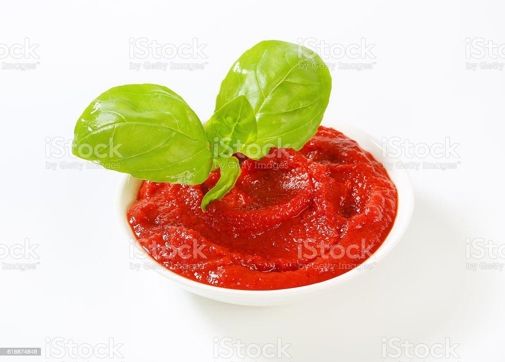 Tomato sauce stock photo