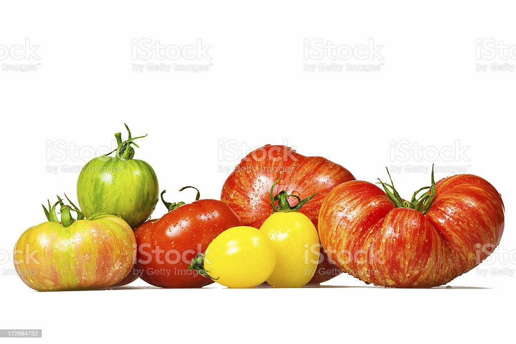 Tomato Selection stock photo