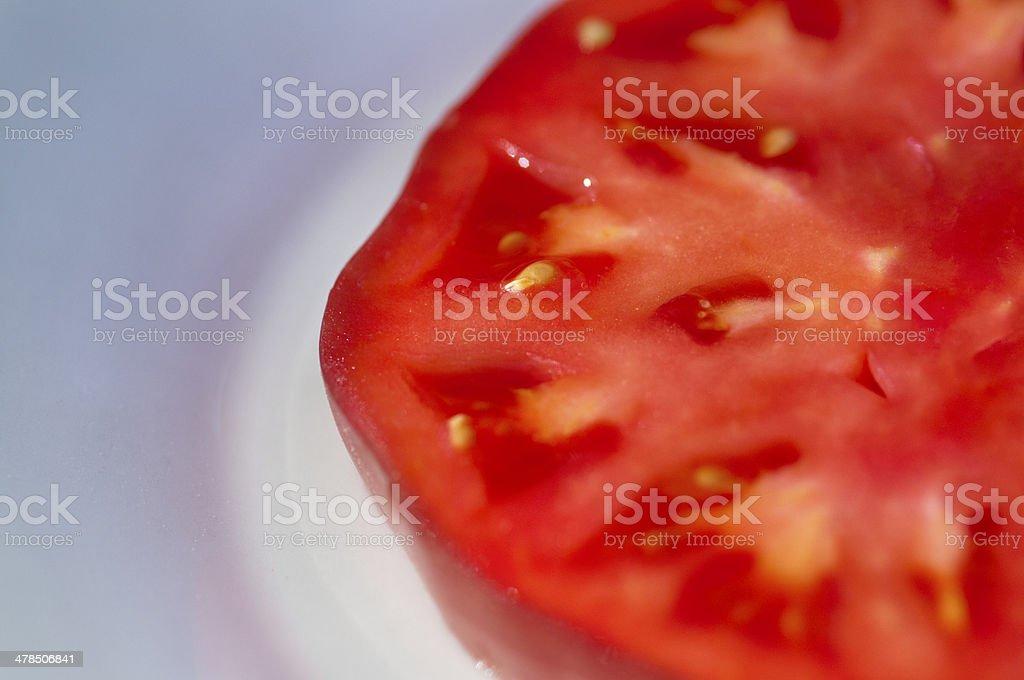 tomato slice royalty-free stock photo