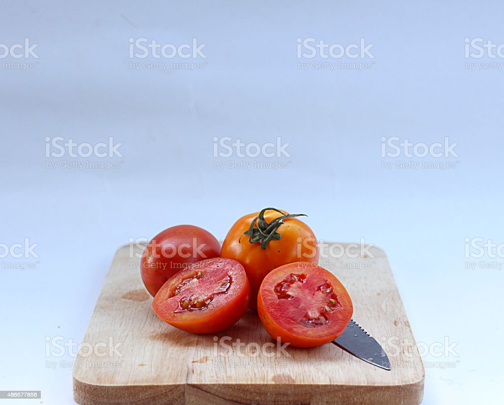 tomato sliced royalty-free stock photo