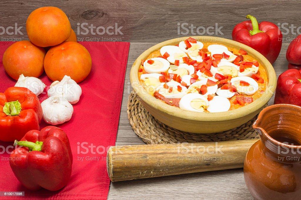 Soupe à la tomate  photo libre de droits