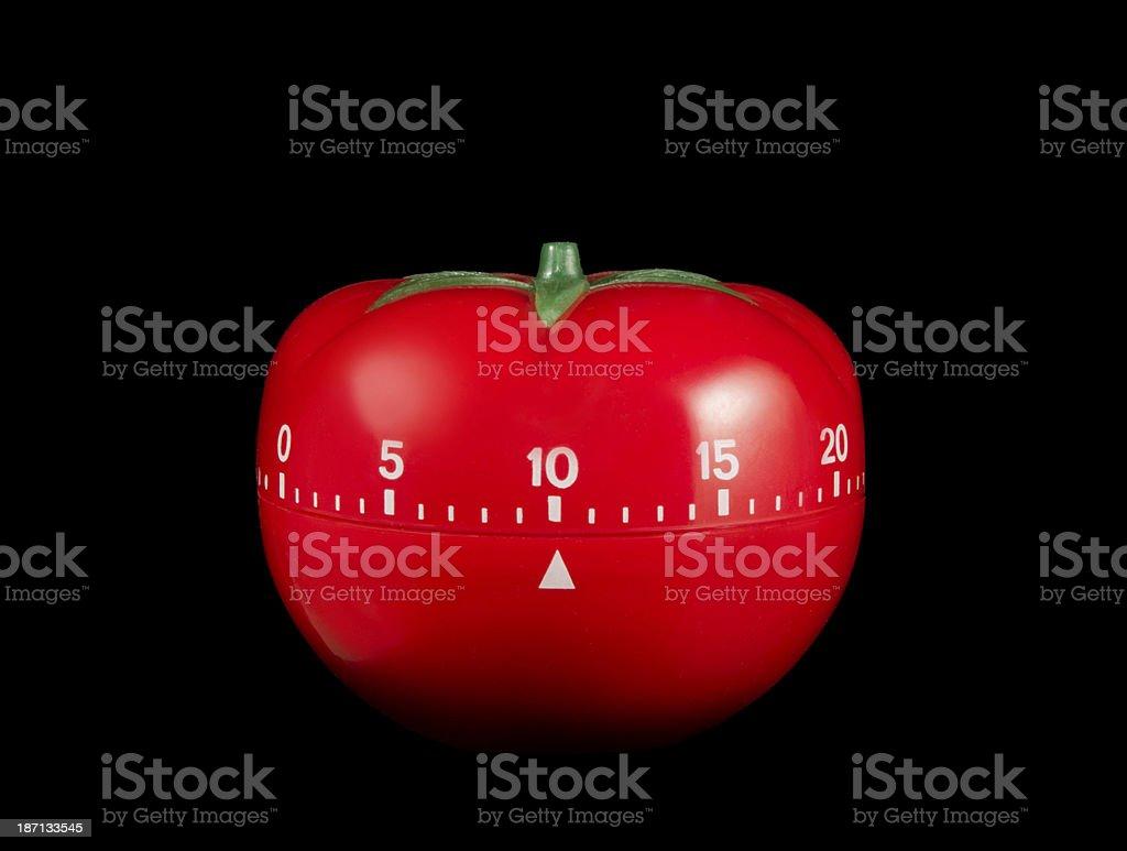 Tomato Timer stock photo