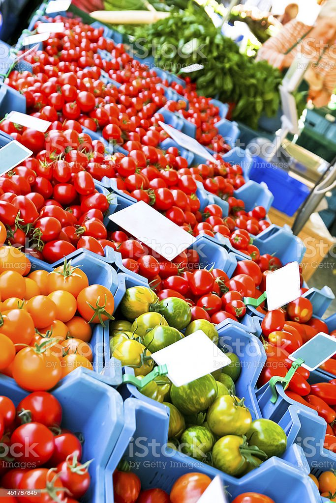 Tomato Varieties stock photo