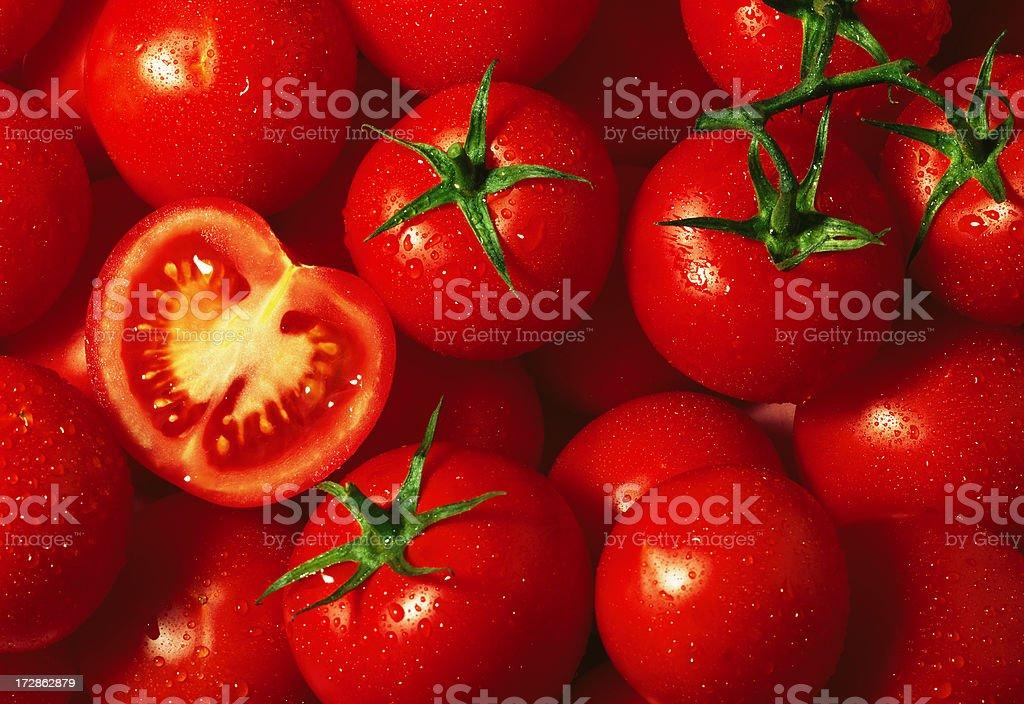 Tomato wallpaper (2) royalty-free stock photo
