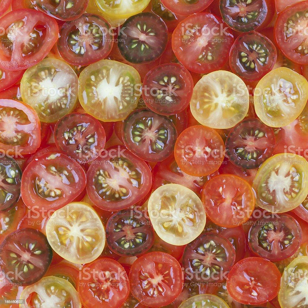Tomatoe background royalty-free stock photo