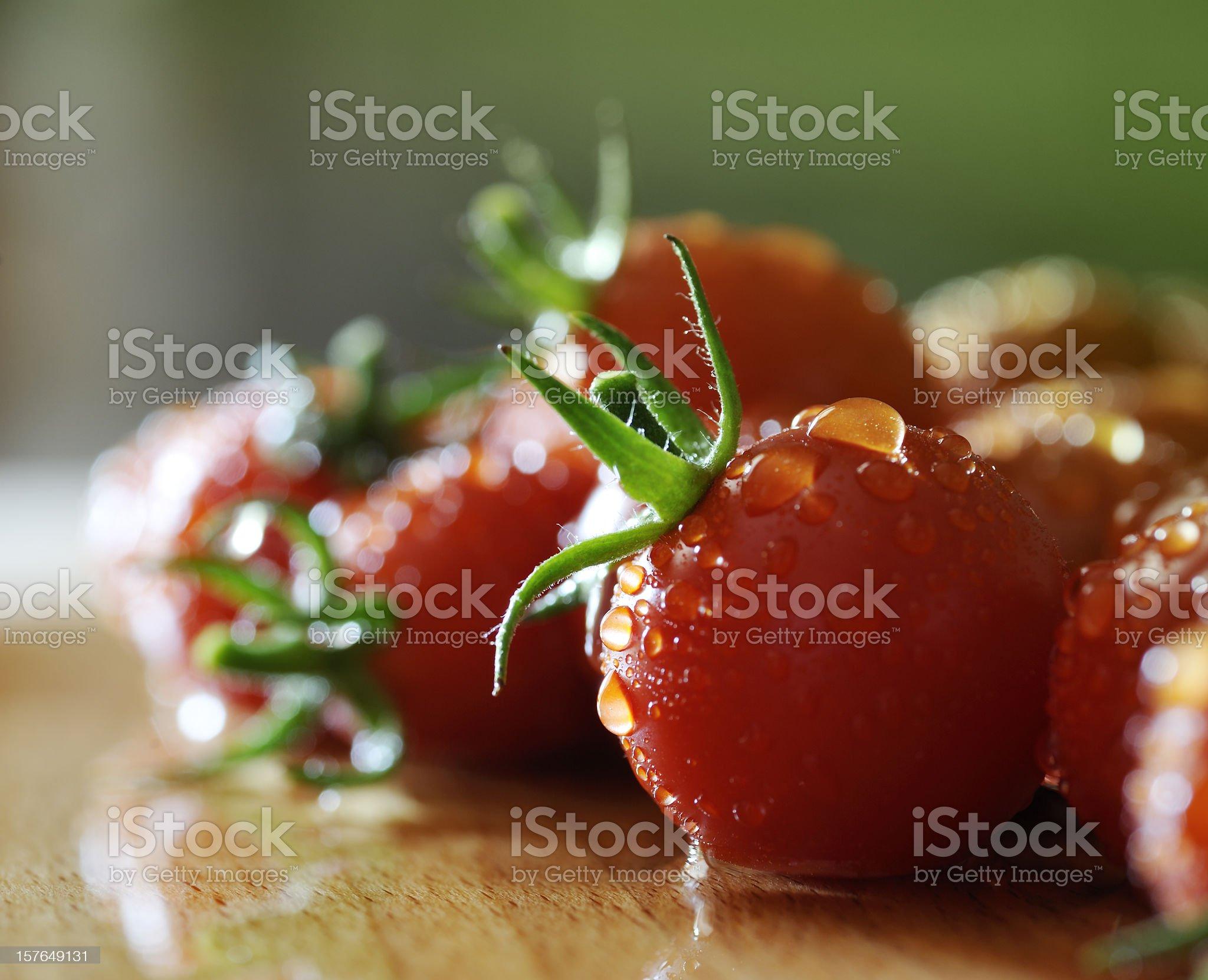 Tomatoes close up royalty-free stock photo