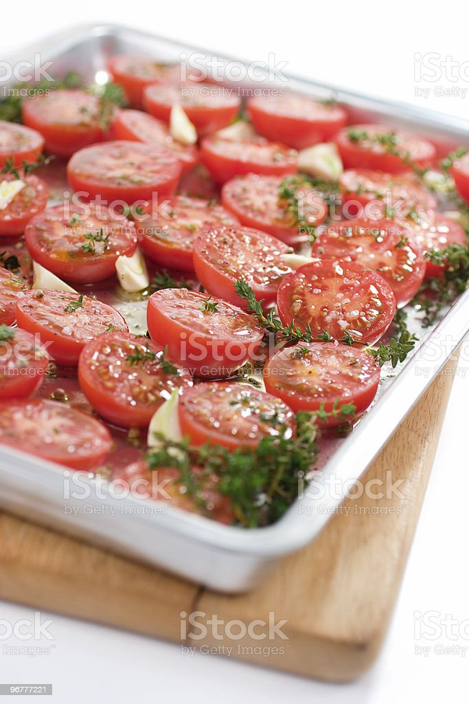 Tomatoes for Roasting stock photo
