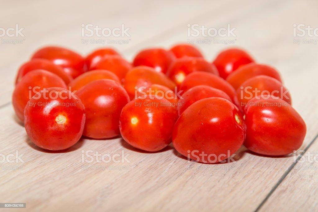 tomatoes, macro shot stock photo