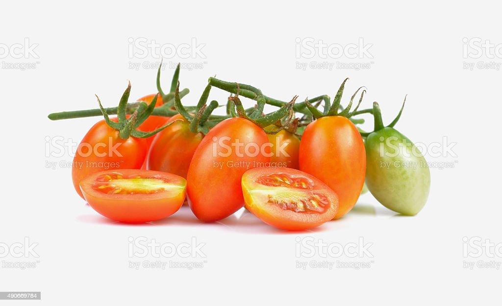 Pomidory na białym tle zbiór zdjęć royalty-free