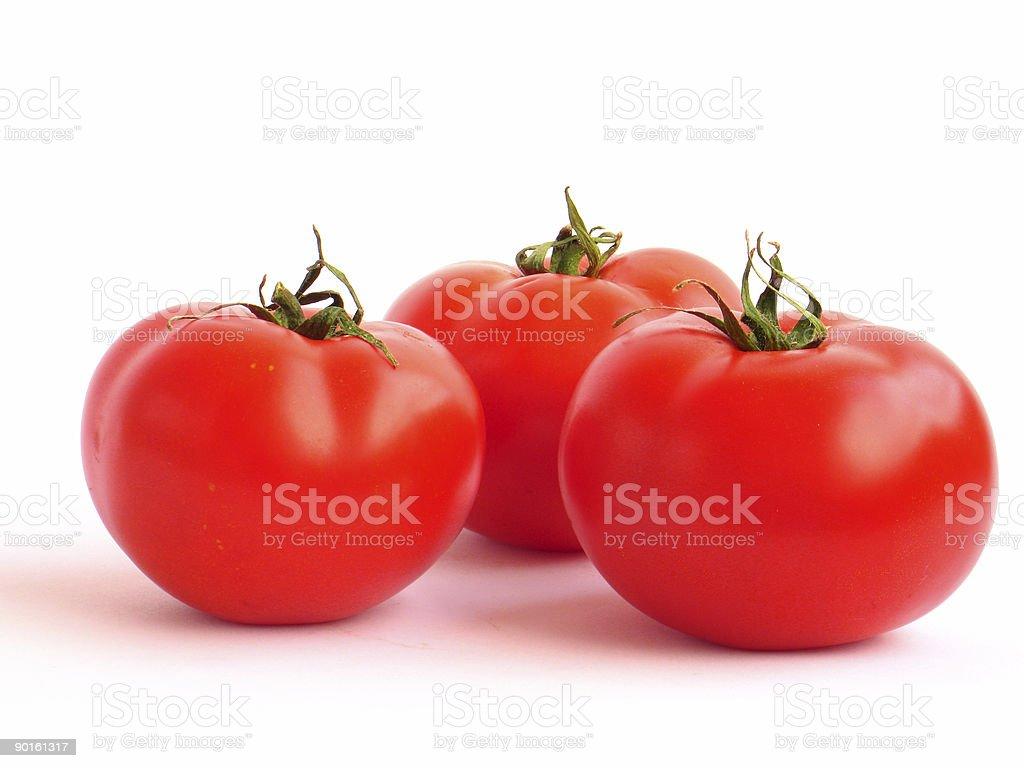 Tomatoes story royalty-free stock photo